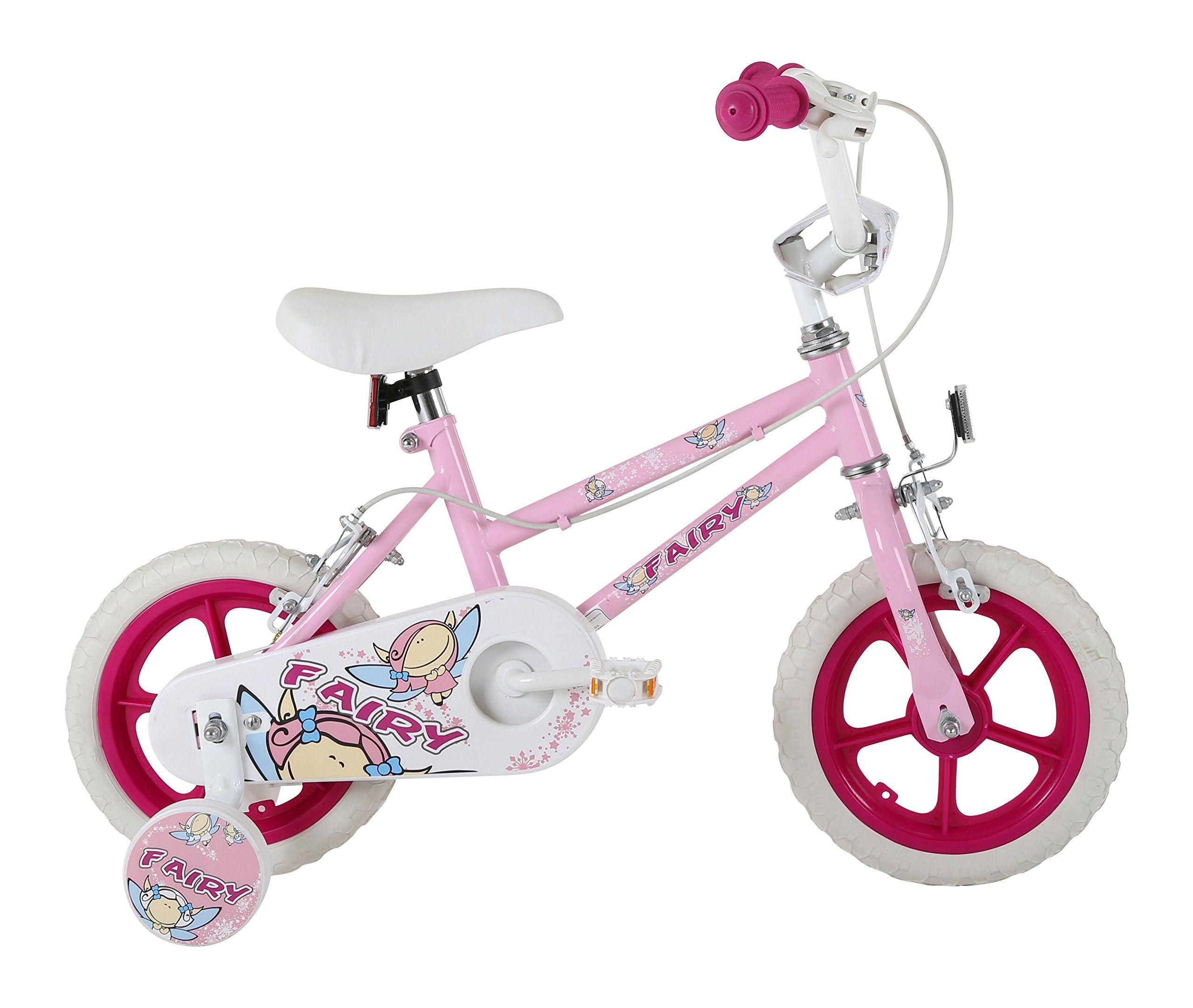 12 Wheel Play Bike Includes Stabilisers 1 Speed Kids Bicycle