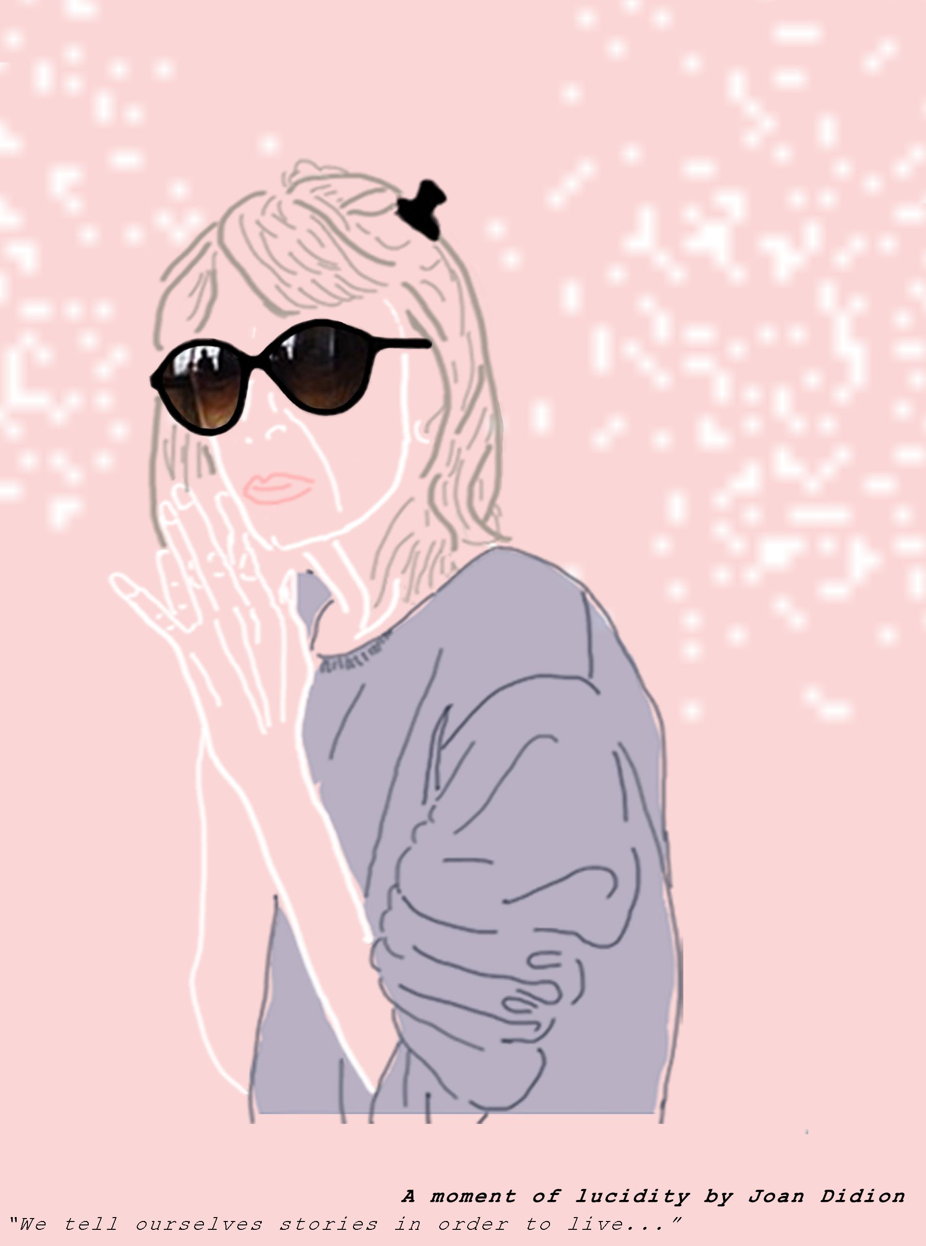 Joan Didion Visual, Blog, Art
