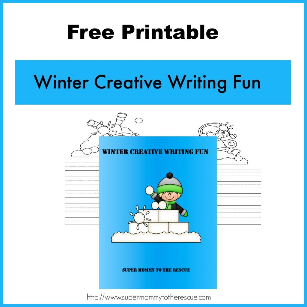 Free Winter Creative Writing Worksheets