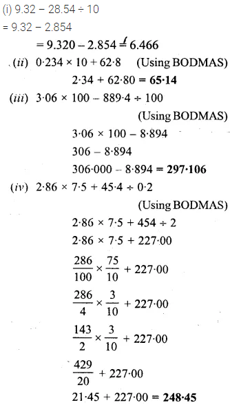 Selina Maths For Class 6 Icse Solutions Chapter 15 Decimal Fractions 27 In 2020 Decimals Fractions Mathematics