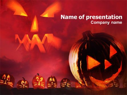 Great Halloween PowerPoint template will be ideal for - history powerpoint template