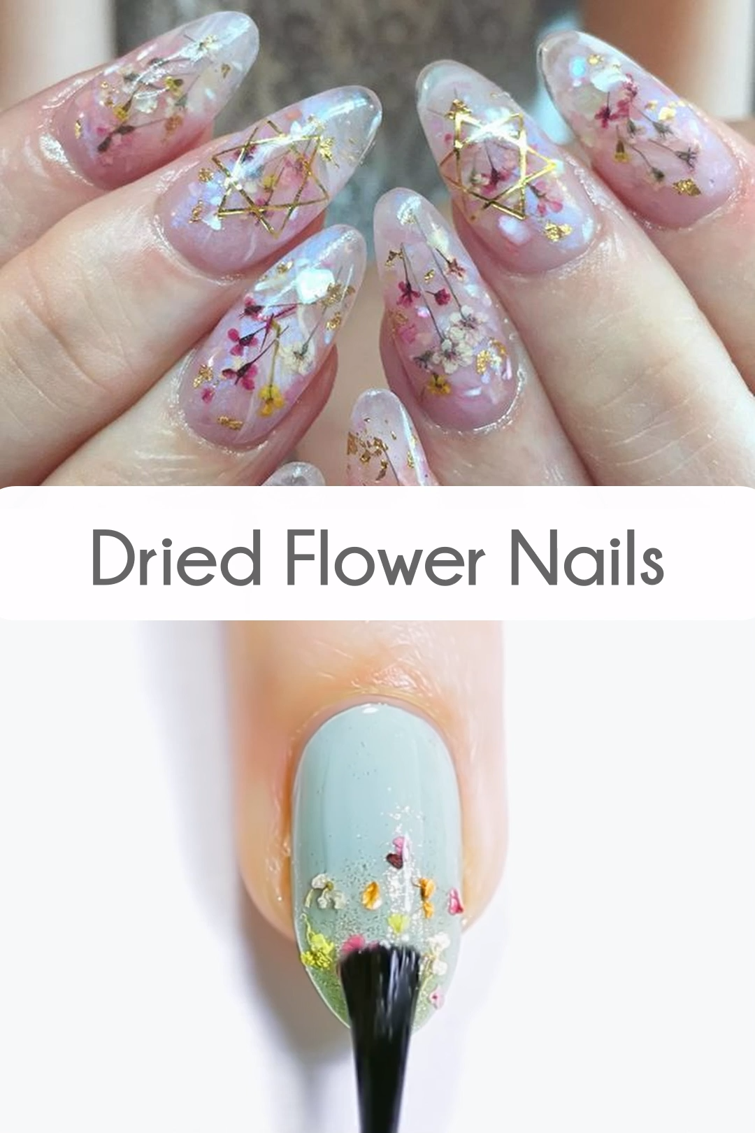 We are obsessed with these Spring nails!