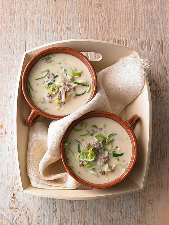 Photo of Cheese and leek soup with minced meat from Nitseltrik | Chef