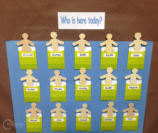 Classroom Layout Importance : How to set up a preschool classroom attendance