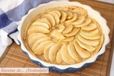 Tarta De Manzana Con Crema Pastelera Y Masa Quebrada Recetas De Escándalo Recipe Desserts Food Apple Pie
