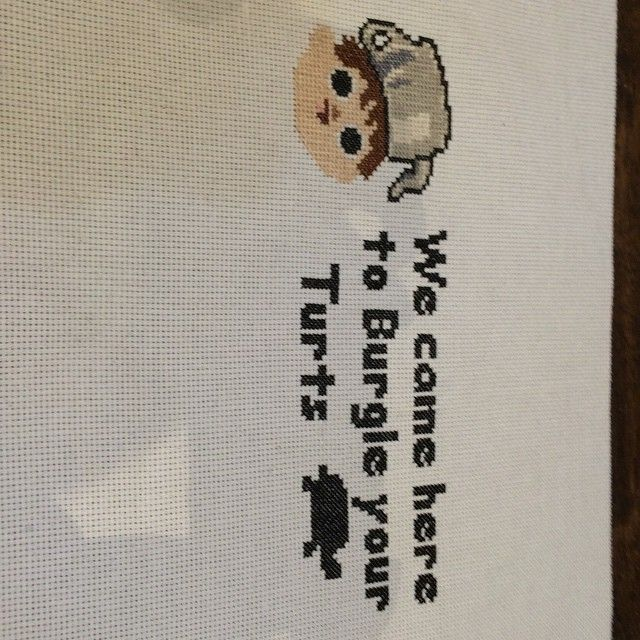 Over The Garden Wall Stitch For Luhae13 Crossstitch
