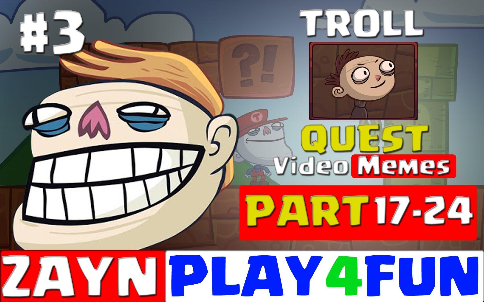 Pin Di Troll Face Quest Ep 3 Kunci Jawaban 17 24