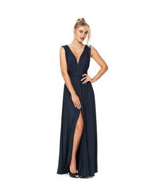 Langhem tali maxi dress