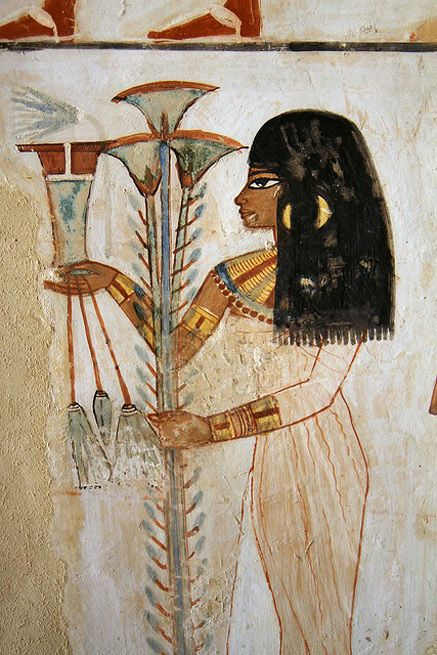 Wall painting – Tomb of Menna  Luxor