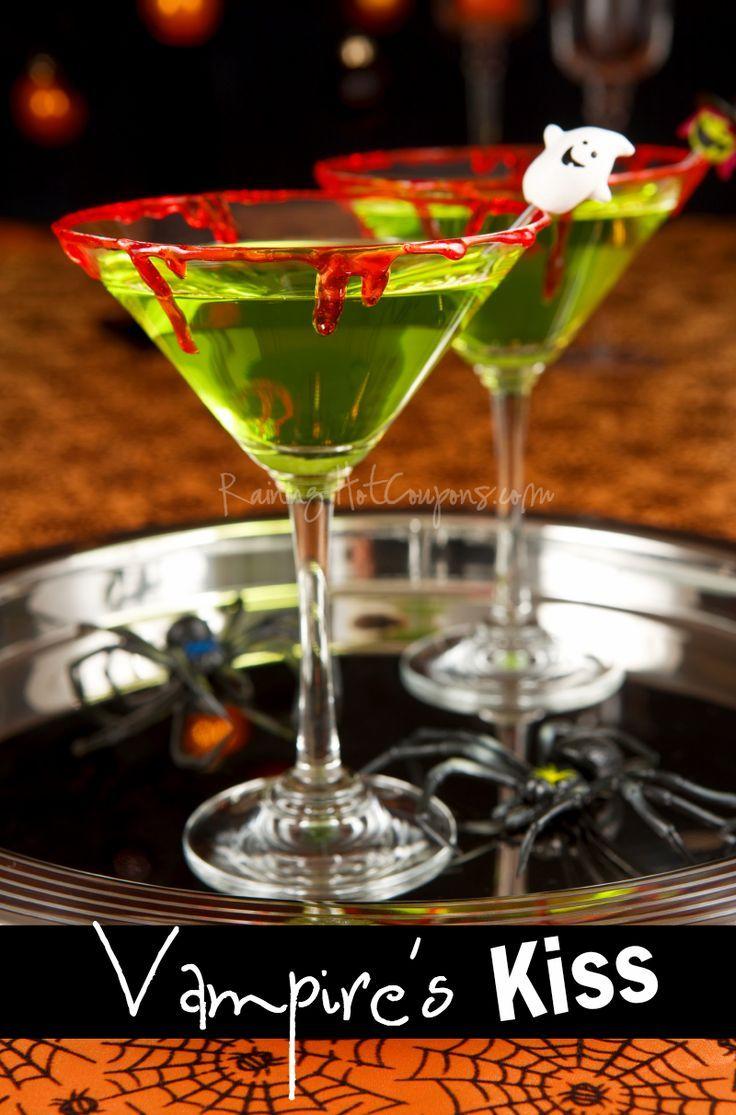 Vampire's Kiss (Halloween Drink Recipe)   Pinterest recipes ...