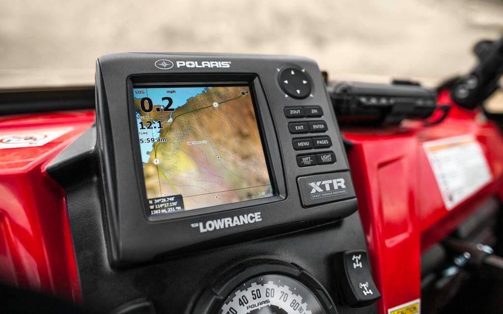 Polaris XTR GPS by Lowrance New products ATV Trail Rider