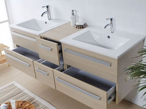 Badkamermeubel badkamer spiegel wastafel kast badmeubel