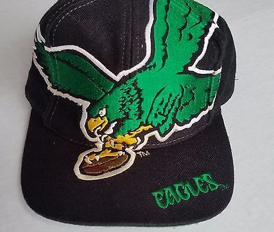 4b6f5275f3e Philadelphia Eagles Vintage Snapback The Game Big Logo Hat NFL Rare Cap  Starter