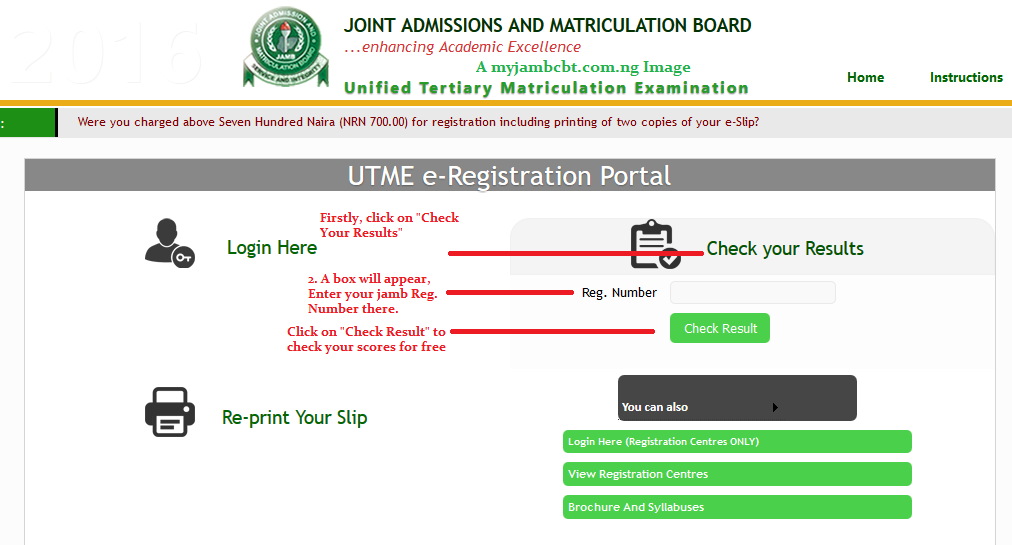 How To Check Jamb Result 2020 Online Guideline And Procedures
