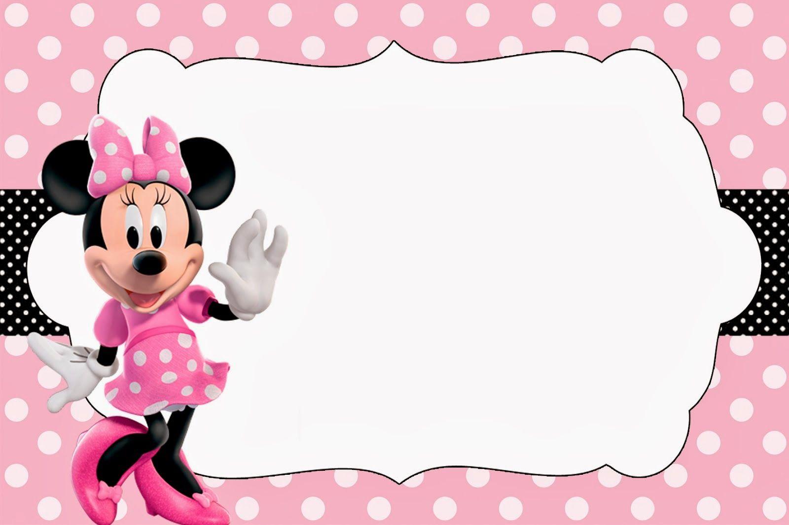 Mickey Mouse Photo Invitation with perfect invitations design