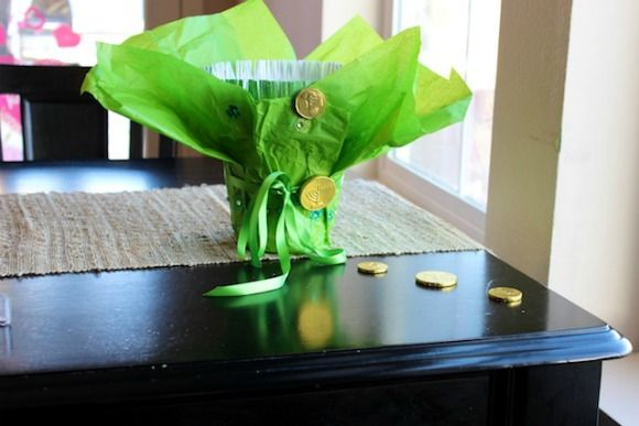 Cute kid craft, leprechaun trap