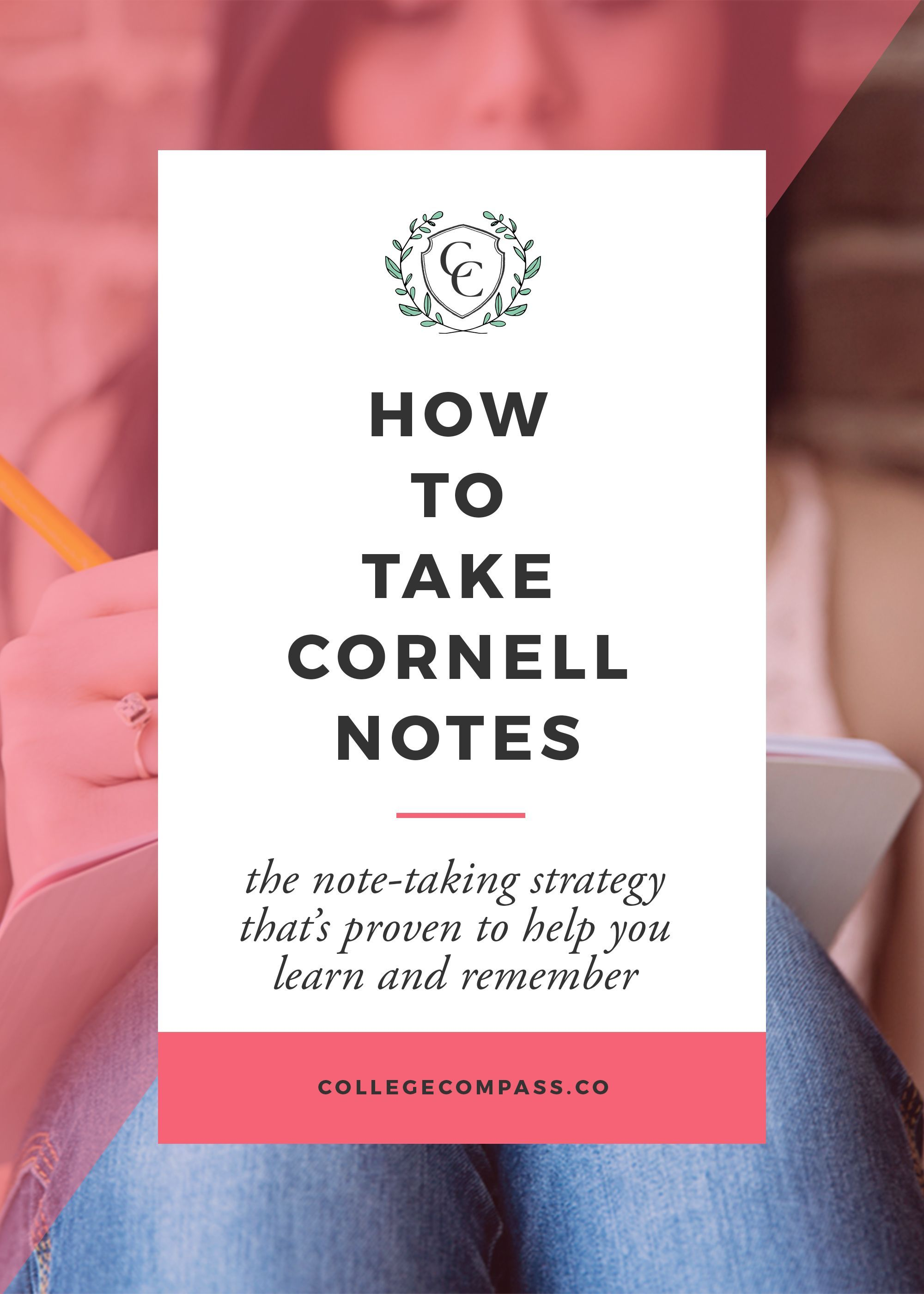 A Quick Guide To Cornell Notes Pin To Save For Later And