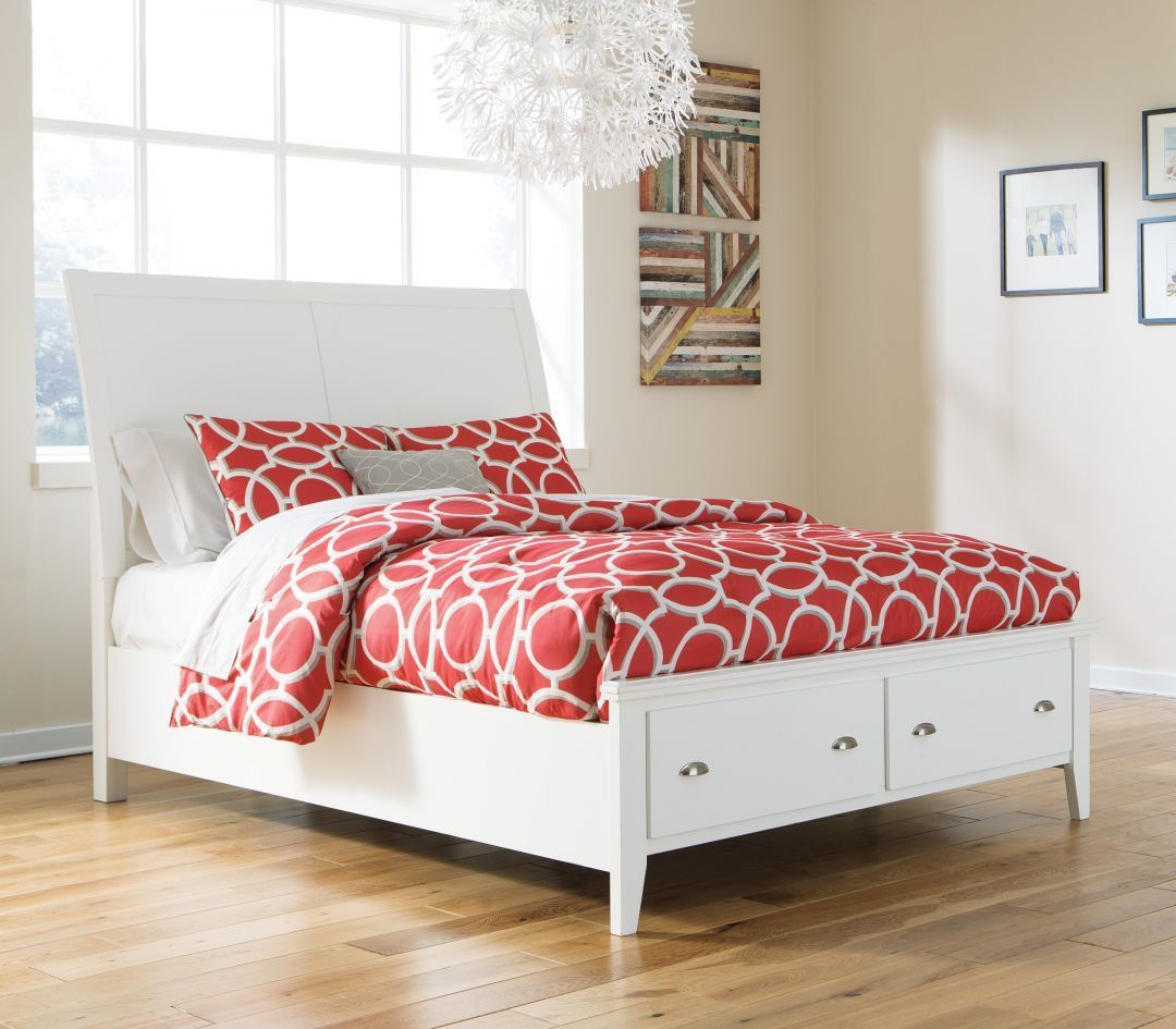 Matrimonio Bed Size : Langlor white queen size bed camas pinterest