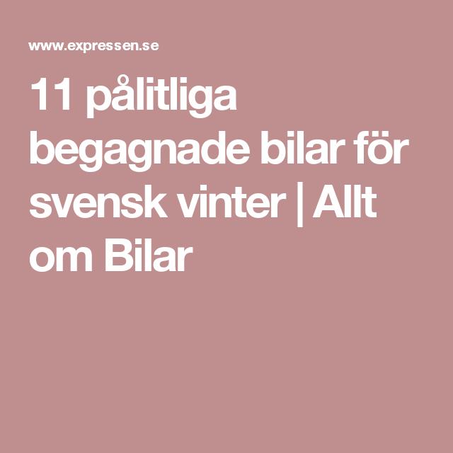 11 pålitliga begagnade bilar för svensk vinter | Allt om Bilar