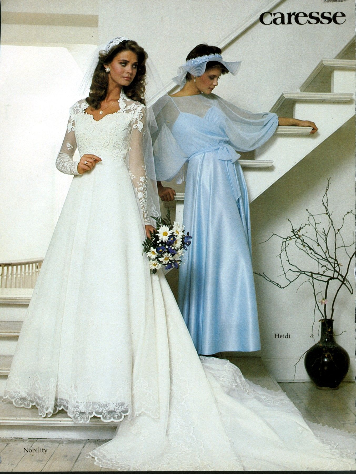 Pin by n loren on 80\'S AND 90\'S BRIDAL WEDDING FASHION | Pinterest ...