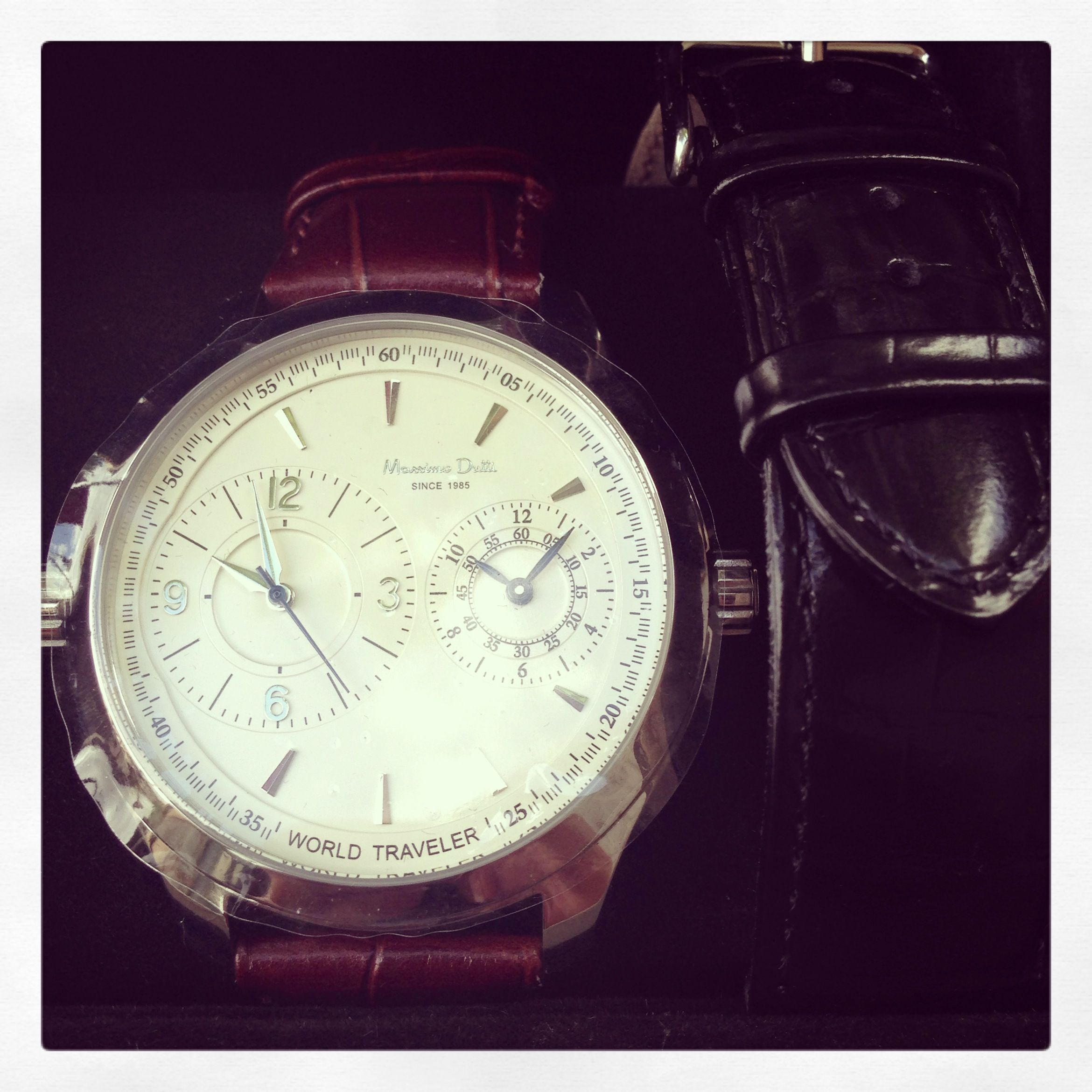 massimo dutti's men's watch / new love