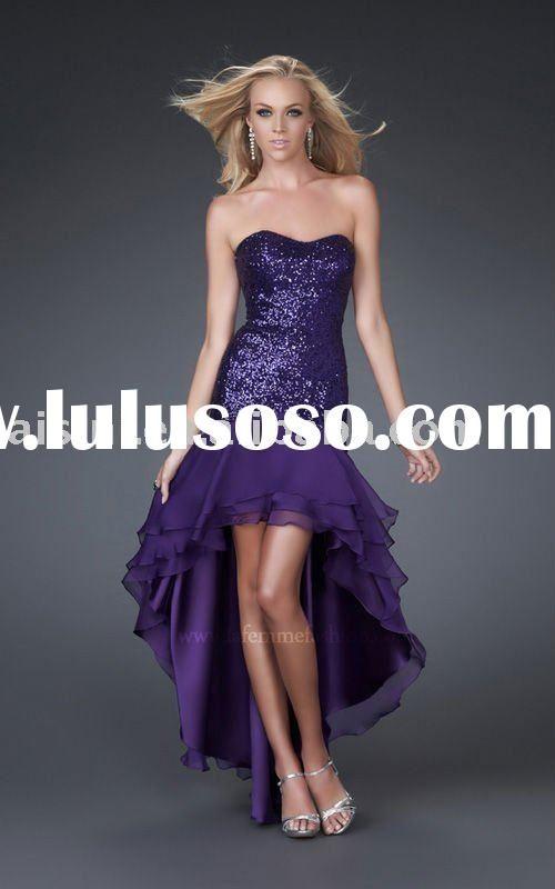 Prom Dress Short In Front Long In Back - Ocodea.com