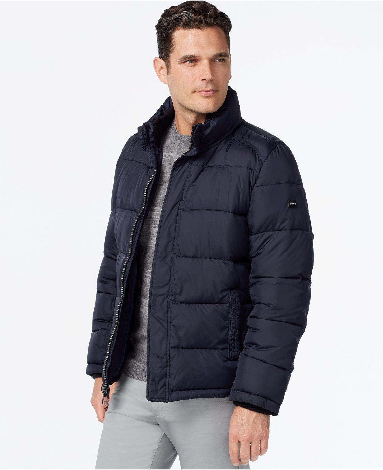 Calvin Klein Men S Jacket Coats Jackets Men Macy S Calvin Klein Men Mens Puffer Coat Mens Jackets [ 1616 x 1320 Pixel ]