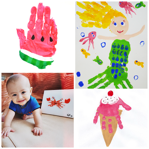 30++ Hand print crafts for toddlers trends