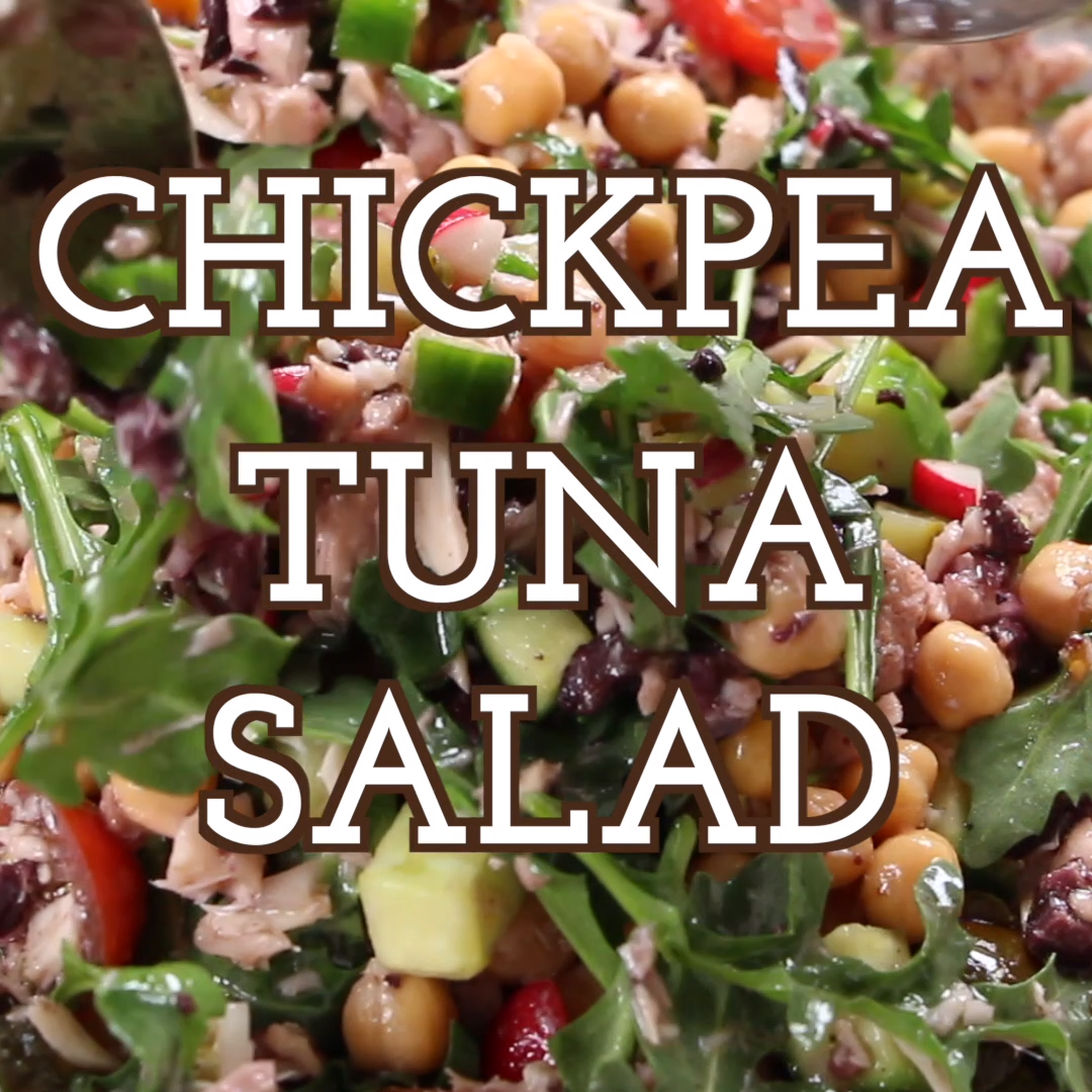 Photo of 30 Min Chickpea Tuna Salad (perfect for meal prep)