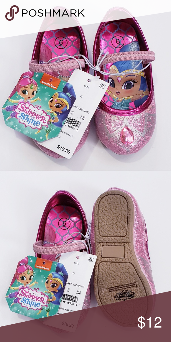 517b9bac47c7 Toddler girl shoes size 6 Shimmer and Shine Nickelodeon Shoes