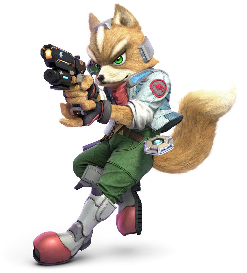 Fox Mccloud Artwork From Super Smash Bros Ultimate Art