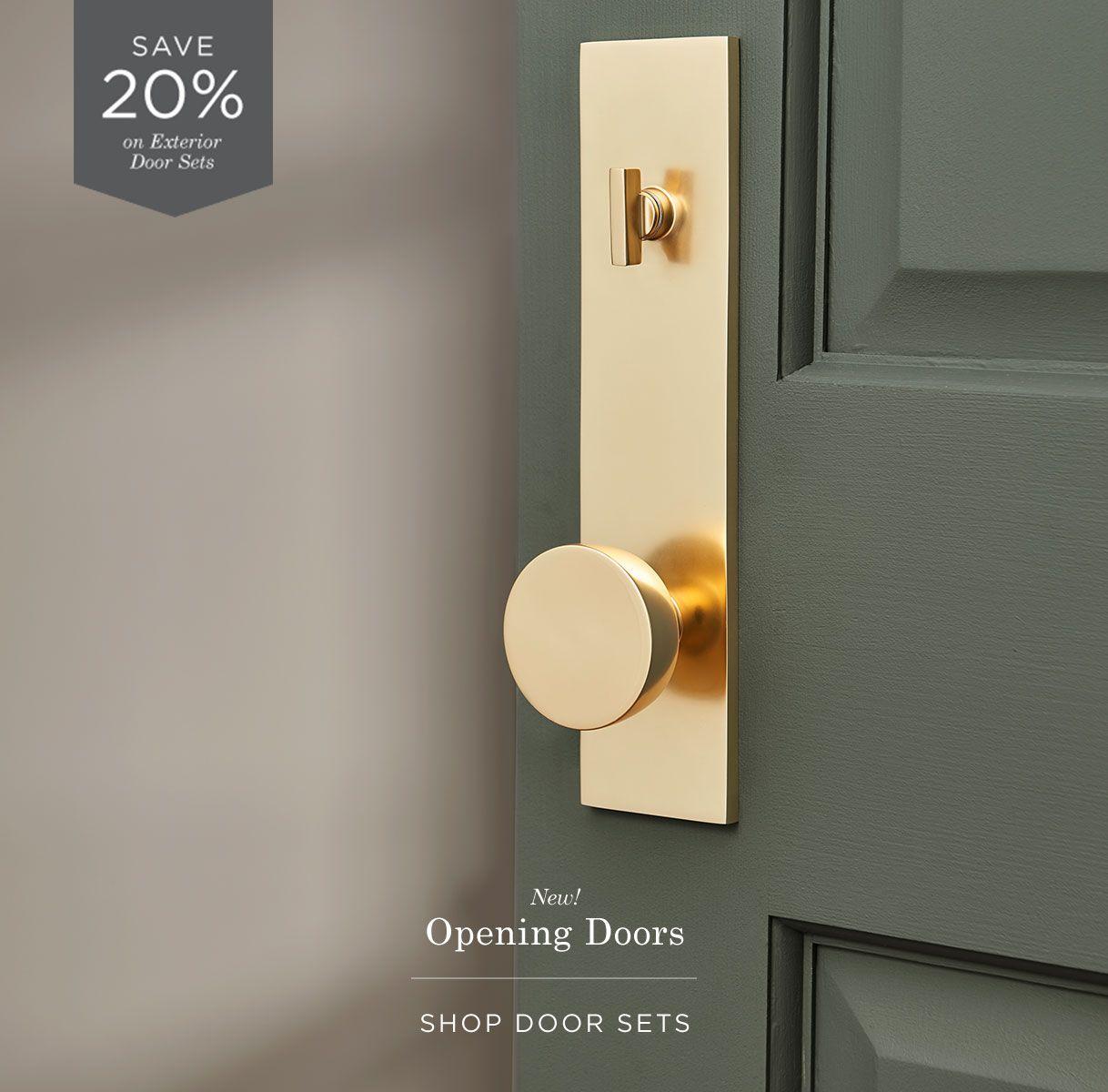 Shop Door Sets Door Handles Interior Black Exterior Doors Door Sets