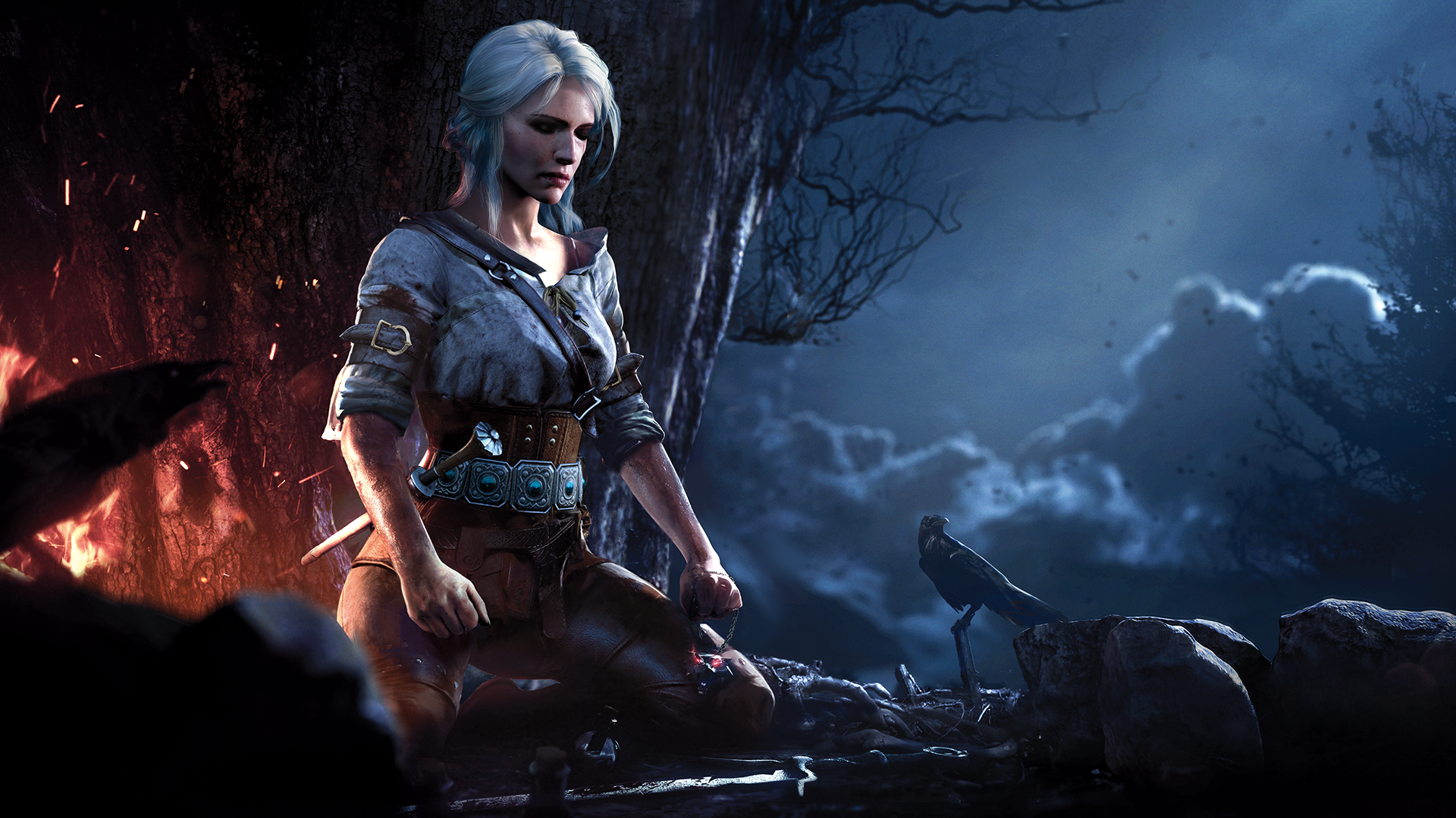Ciri Meditating Wallpaper The Witcher The Witcher 3