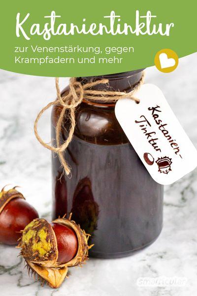 Heilsame Kastanien-Tinktur herstellen und richtig anwenden