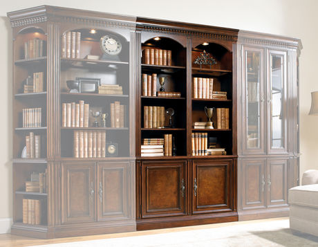 European Renaissance Ii 48 Wall Bookcase Bookcase