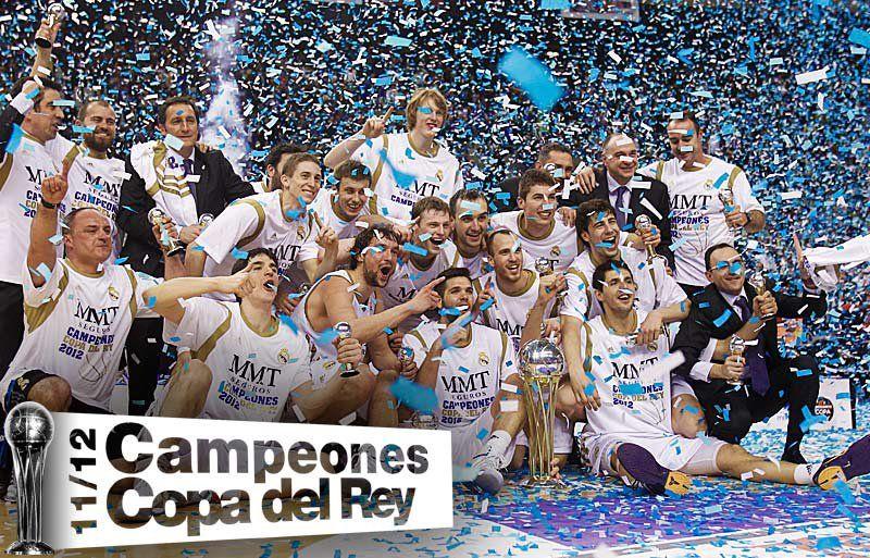 ¡CAMPEONES! El Real Madrid gana al Barcelona (74-91)