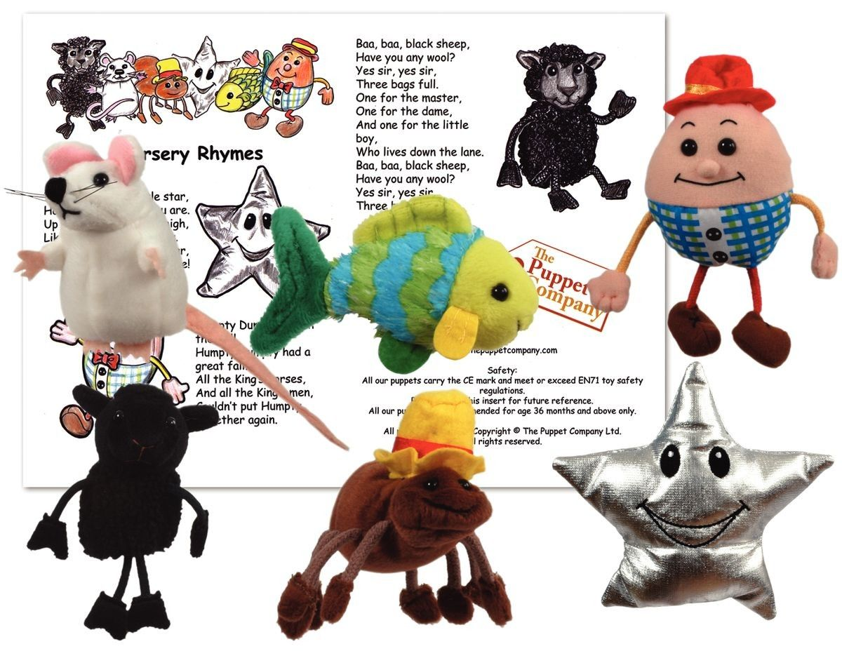 Finger Puppet Story Sets With Images