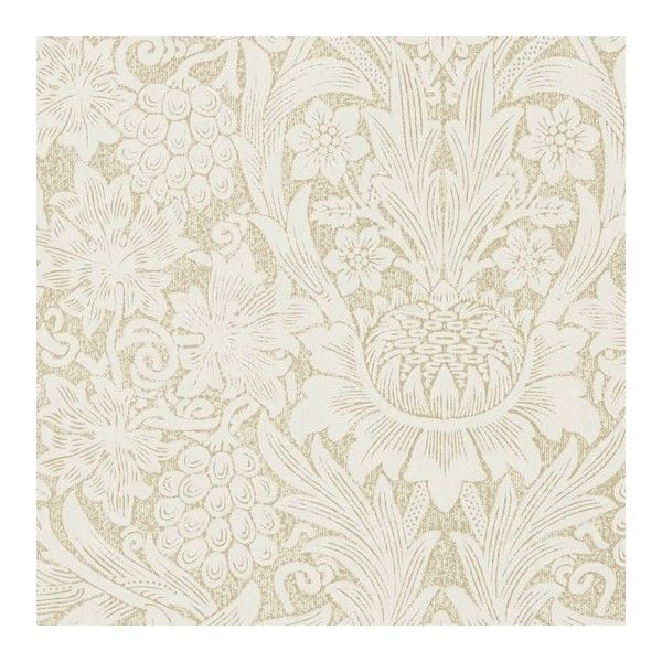 Morris & Co Pure Sunflower Wallpaper (€76) ❤ liked on Polyvore ...