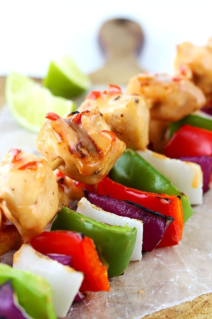 (5) Bang Bang Chicken Kabobs | Recipe | Coffee and other things to dr…