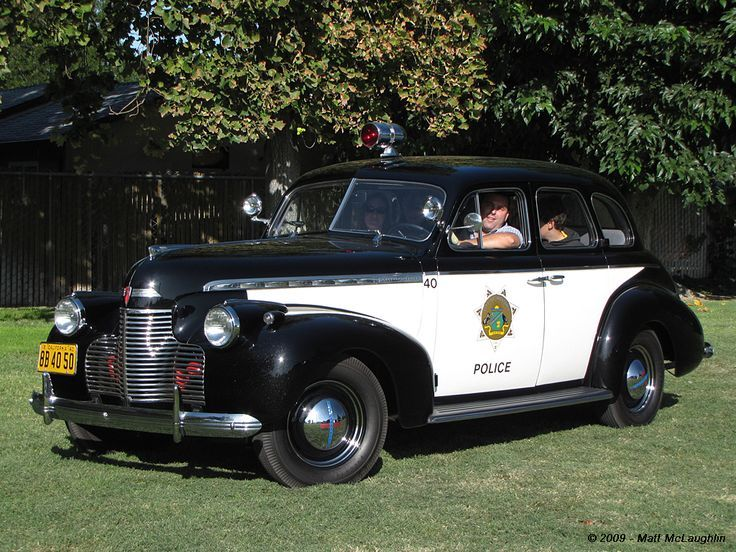 1940 Chevrolet Police Car Police Cars Police Best Muscle Cars