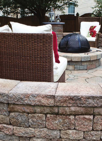 Celtik Wall/Weston Stone/Mega Arbel Patio Slab By Belgard