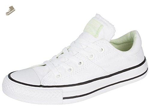 a65d70f0675d3 Converse Womens Chuck Taylor All Star Madison OX White/Pistachio ...