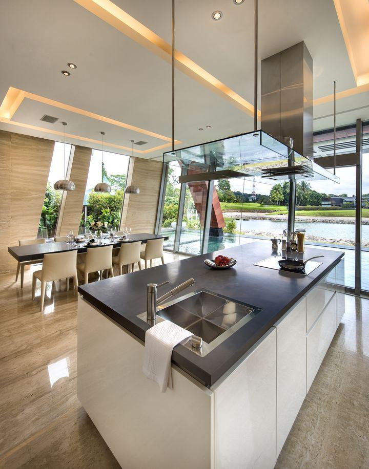 Villa alba por mercurio dise o lab14 falsos techos - Plafones de cocina ...