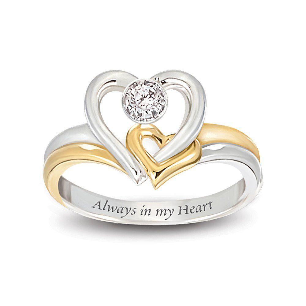 Engagem Ent Ring Designs Design Wedding Rings Engagement Rings Gallery Always In My Heart Engagement Rings Heart Shaped Engagement Rings Heart Wedding Rings