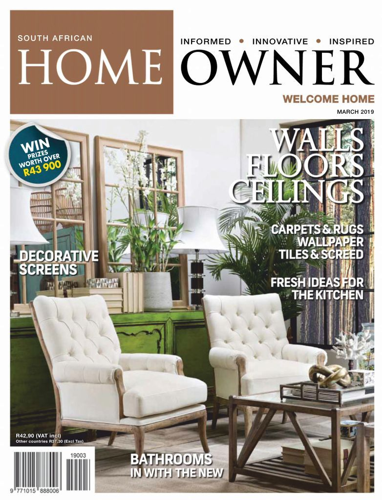 South African Home Owner March 2019 Magazines South