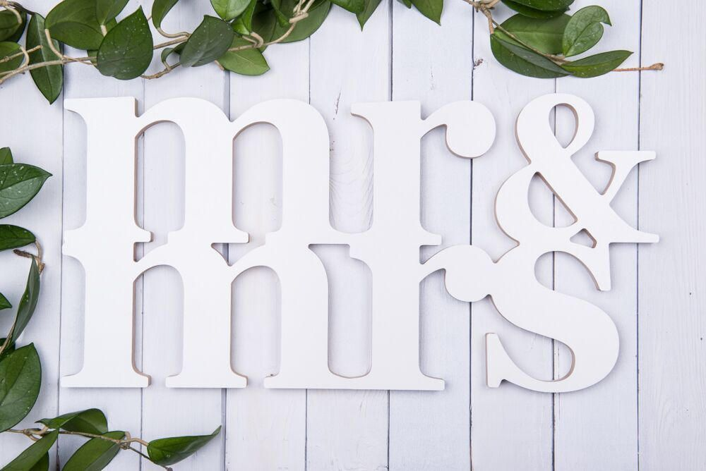 Mr Mrs Signs Wedding Decor Wooden Letters Wooden Mr Mrs Mr Mrs