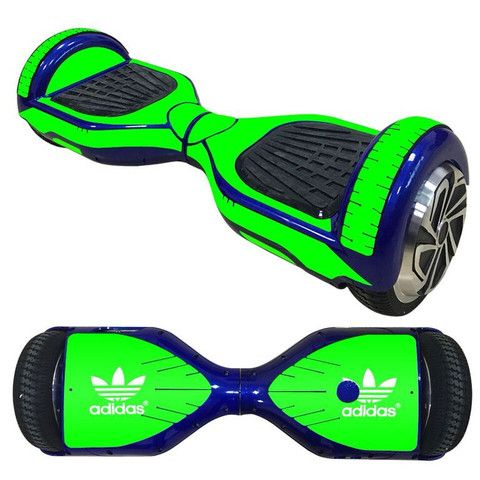 Adidas Yellow Pad design skin decal for electric Self Balance scooter Board - Decal Design