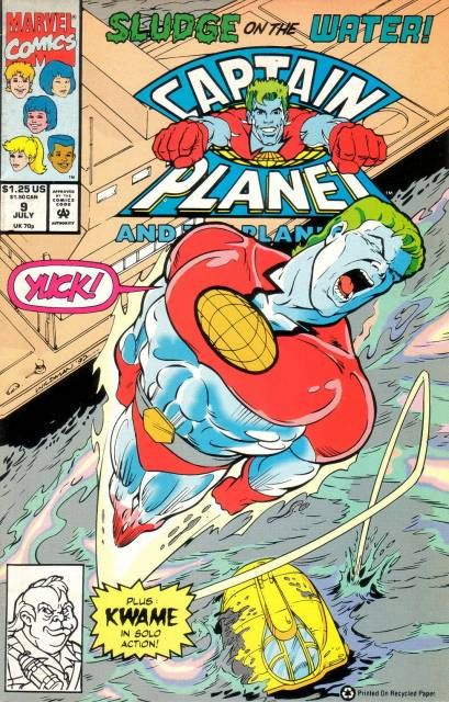 Captain Planet And The Planeteers Volume