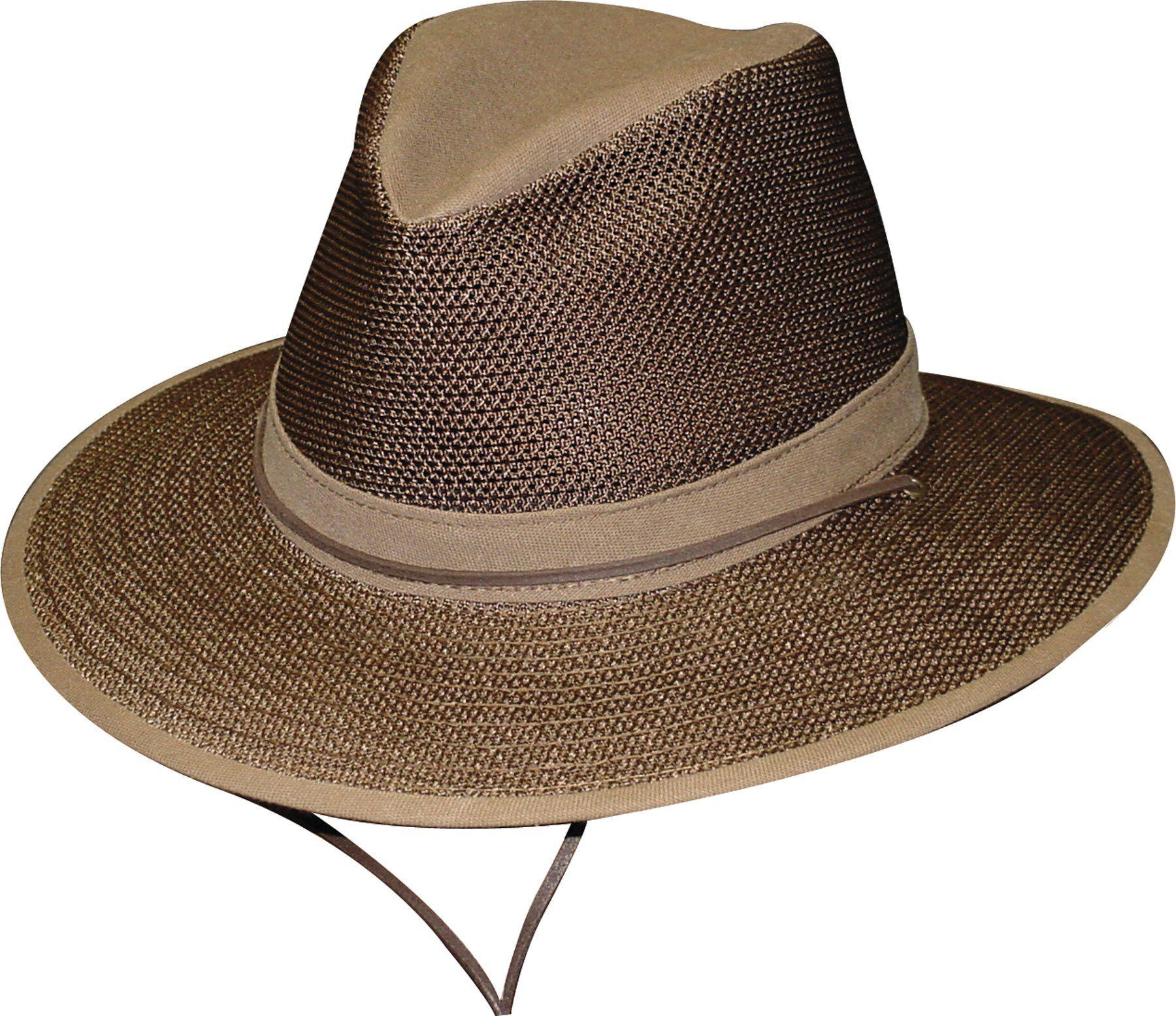 Henschel Men s Polycotton Packable Mesh Breezer Safari Hat  83e03ebc3