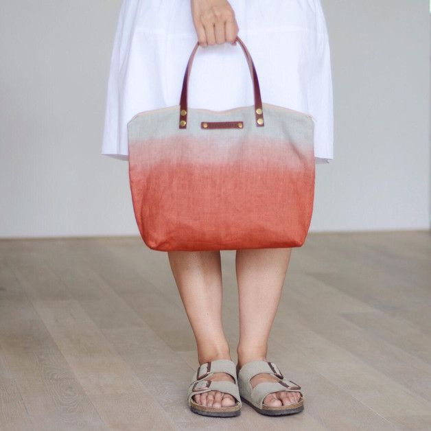 Great gift for sports enthusiasts. Lovely Sport Bags / ombre – MIKANU – a unique product by MiKaNu via en.DaWanda.com